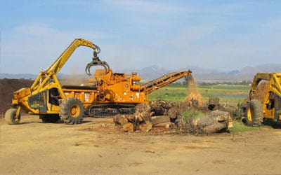 Africa Biomass Company adds value to wood waste with the help of Bell loggers